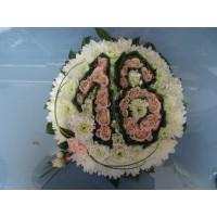 Кошница с рози № 523